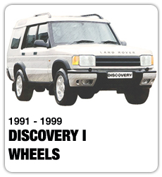 Land Rover Discovery I Wheels