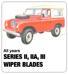 Land Rover Wiper Blades